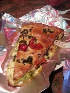 Stuffed Vegetable Pizza